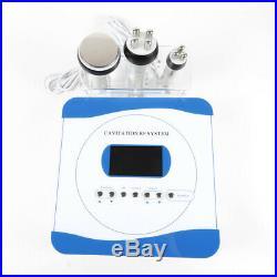 110V 3-1 Ultrasonic Vacuum Cavitation RF Slim Cellulite Machine Weight Loss