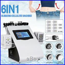2019 Ultrasonic Vacuum Cavitation RF Radio Frequency Body Slim Cellulite Machine