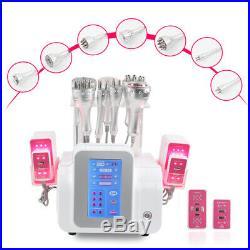 2020 Radio Frequency skin lift 9in1 ultrasonic cavitation laser slimming machine