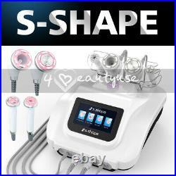2021 4in1 S-SHAPE 30k Cavitation RF Ultrasonic Vacuum EMS Body Slimming Machine