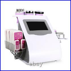 2021 9-1 Ultrasonic Cavitation Vacuum RF LED Body Slimming Cellulite Machine