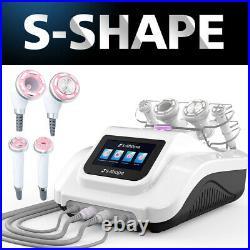 2021 Pro 30k S-SHAPE Cavitation RF Ultrasonic Vacuum EMS Body Slimming Machine