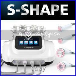 2021 Pro S-SHAPE 30k Cavitation RF Ultrasonic Vacuum EMS Body Slimming Machine