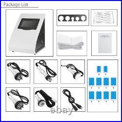 220V 6in1 Vacuum Ultrasonic Cavitation SPA RF Body Slimming Cellulite Machine A