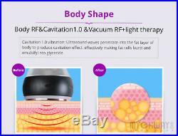 220V Ultrasonic Vacuum 6 in1 Cavitation RF Frequency Cellulite Body Slim Machine