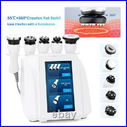 360° Automatic Rotary RF Ultrasonic Cavitation Vacuum Body Slimming Machine 5in1