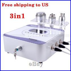 3IN1 Ultrasonic 40k Cavitation RF Radio Frequency Body Slimming Lift Machine US