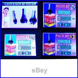 3In1 Ultrasonic Cavitation RF Radio Frequency Slim Fat Burning Care Machine USA
