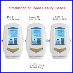 3-1 Vacuum Ultrasonic Cavitation Radio Frequency RF Body Massager Machine US zl