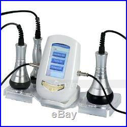 3 IN 1 40K Cavitation Ultrasonic RF Skin Rejuvenation Weight Loss Beauty Machine