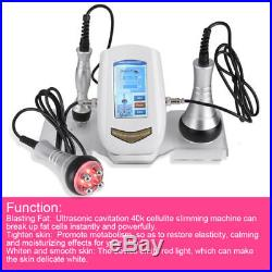 3 IN 1 Vacuum Ultrasonic Cavitation Radio Frequency RF Body Slimming Machine