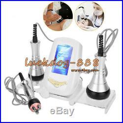 3 In1 RF Vacuum Ultrasonic Cavitation Radio Frequency Fat Loss Massager Machine