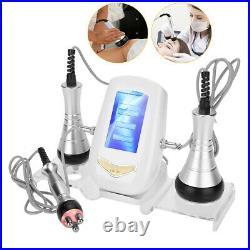 3 In 1 RF Vacuum Ultrasonic Cavitation Radio Frequency Fat Loss Massager Machine