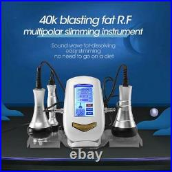 3 In 1 Ultrasonic Cavitation Tripolar Vacuum RF Body Sculpting Slimming Machine