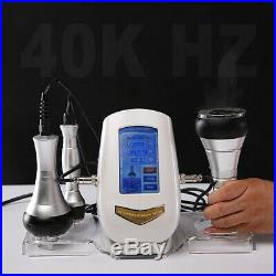 3 in 1 Cavitation Vacuum Slimming RF Machine 40KHz ultrasonic Weight Loss Device