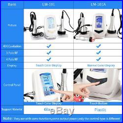 3 in 1 Pro Vacuum Ultrasonic Cavitation Radio Frequency Body Slimming Machine US