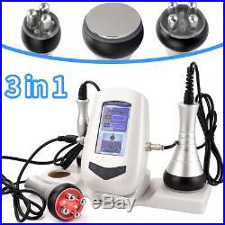 3 in 1 Pro Vacuum Ultrasonic Cavitation Radio Frequency RF Body Slimming Machine