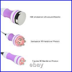 3 in 1 Ultrasonic Cavitation 40K Radio Frequency Body Slimming Beauty Machine US