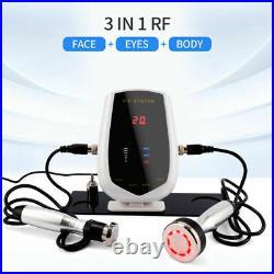 3 in 1 Ultrasonic Cavitation Multipolar RF Face Body Eye Lifting Beauty Machine