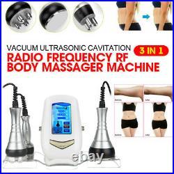 3-in-1 Ultrasonic Cavitation RF Body Massager Slimming Machine Beauty Instrument