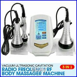 3 in 1 Ultrasonic Cavitation RF Body Slimming Anti-Cellulite Beauty Machine US