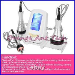 3 in 1 Ultrasonic Cavitation RF Radio Frequency Body Slimming Beauty Machine