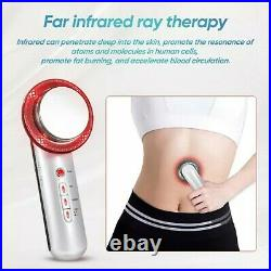 3 in 1 Ultrasound Slimming Machine Fat Cavitation Weight Loss Gel Spa Care Tool