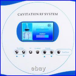 3in1 1MHZ Ultrasonic Cavitation RF Slimming Machine Body Sculpting 3 Probe 110V