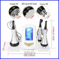 3in1 Ultrasonic 40K Cavitation RF Weight Loss Body Slimming Beauty Machine