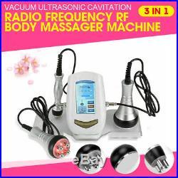 3in1 Ultrasonic Cavitation Vacuum RF Radio Frequency Cellulite Slim Spa Machine