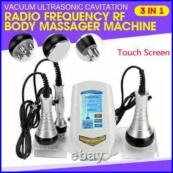 3in1 Ultrasonic Cavitation Vacuum Radio Frequency Cellulite Slimming Spa Machine