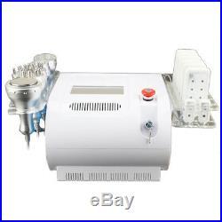 40KHz Ultrasonic Cavitation Multipolar RF Vacuum Facial Body Slim Machine