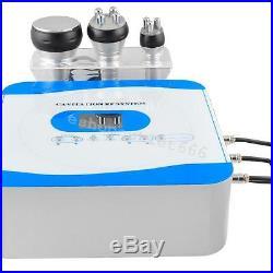 40K 3in1 Radio Frequency Ultrasonic Cavitation RF Slim Weight Loss Machine US
