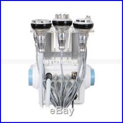 40K 5in1 Ultrasonic Cavitation RF Radio Frequency Body Slimming Machine Fat LED