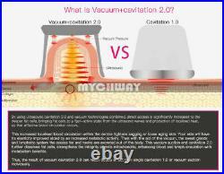 40K Cavitation Ultrasonic RF Radio Frequency Multipolar Vacuum Slimming Machine