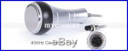 40K RF Multipolar Ultrasonic Vacuum Cavitation Fat Slimming Machine US Plug