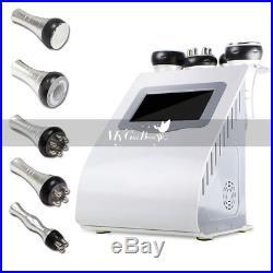 40K Ultrasonic Cavitation 5-1 Radio Frequency Body Slimming Vacuum RF Machine