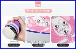 40K Ultrasonic Cavitation Body Slimming Machine+Microdermabrasion Peeling Device