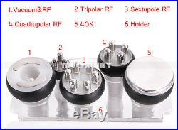40K Ultrasonic Cavitation RF Radio Frequency 6-1 Vacuum Weight Loss Machine Spa