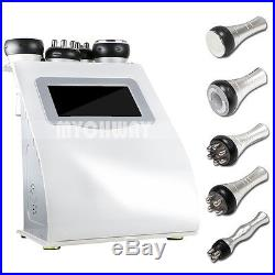 40K Ultrasonic Cavitation Vacuum RF Facial Lifting Weight Loss Slimming Machine