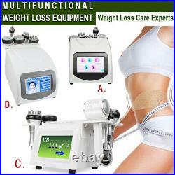40K Ultrasonic Cavitation Vacuum Radio Frequency Full Body Slimming Care Machine