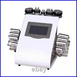 40K Ultrasonic Cavitation Vacuum Radio Frequency Laser 8 Pads lipo Laser Machine