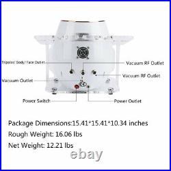 40K Vacuum Ultrasonic Cavitation 5 IN 1 Radio Frequency RF Body Slimming Machine