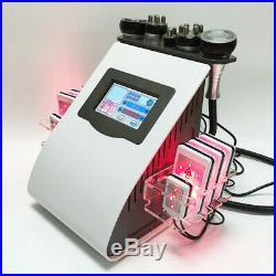 40K ultrasonic cavitation machine 6in1 RF lipolaser lipo laser slimming device