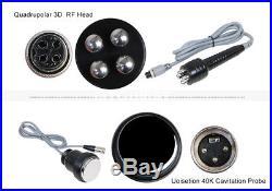 40k Cavitation Radio Frequency RF Ultrasonic Vacuum Cellulite Machine Slimming a