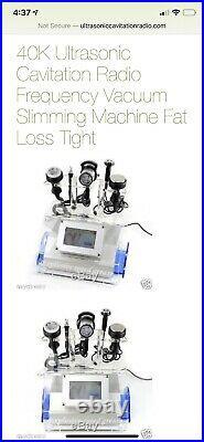 40k Ultrasonic Cavitation Radio Frequency Vacuum Slimming Machine (Fat Loss)