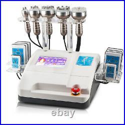 4/6 IN1 Ultrasonic Cavitation RF Radio Frequency Body Contour Slimming Machine