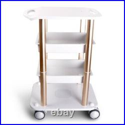 4-Layer Pro Trolley Cart Stand For Ultrasonic Cavitation RF Beauty Spa Machine