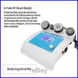 4 in 1 Ultrasonic Cavitation RF Radio Frequency Vacuum Body Gel Shaping Machine