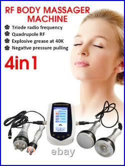 4-in-1 Ultrasonic Cavitation Radio Frequency Anti-aging Body Massager Machine